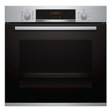 Многофункциональный духовой шкаф BOSCH HBA574BR00 71 L светодиодный 3600 Вт черный из нержавеющей стали