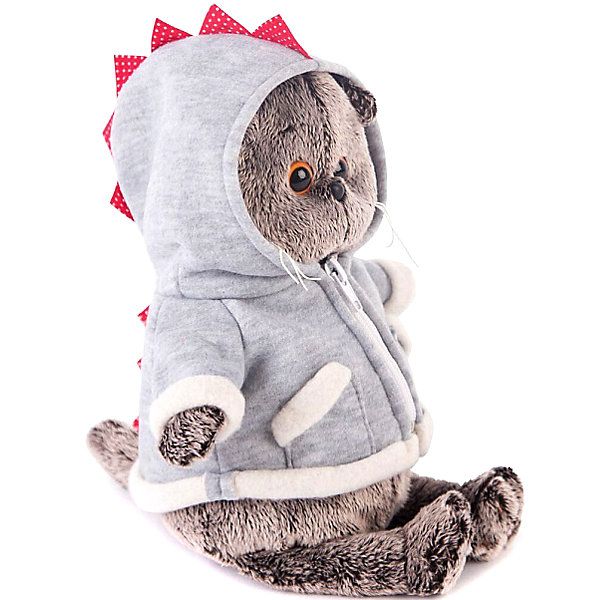 Soft Toy Budi Basa Cat Basik In Hoodie