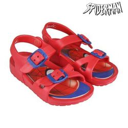Sandały plażowe Spiderman 73060 czerwony na
