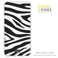 FunnyTech®Stand case for Alcatel Silicone 3 L Animal Print Zebra