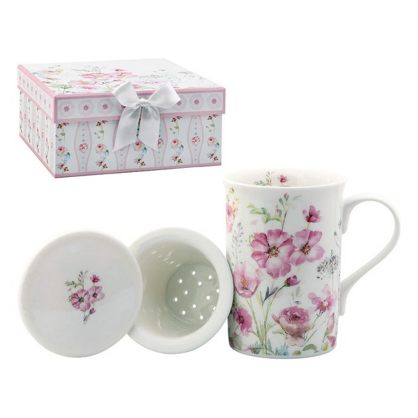 Cup With Tea Filter 116168 Roses