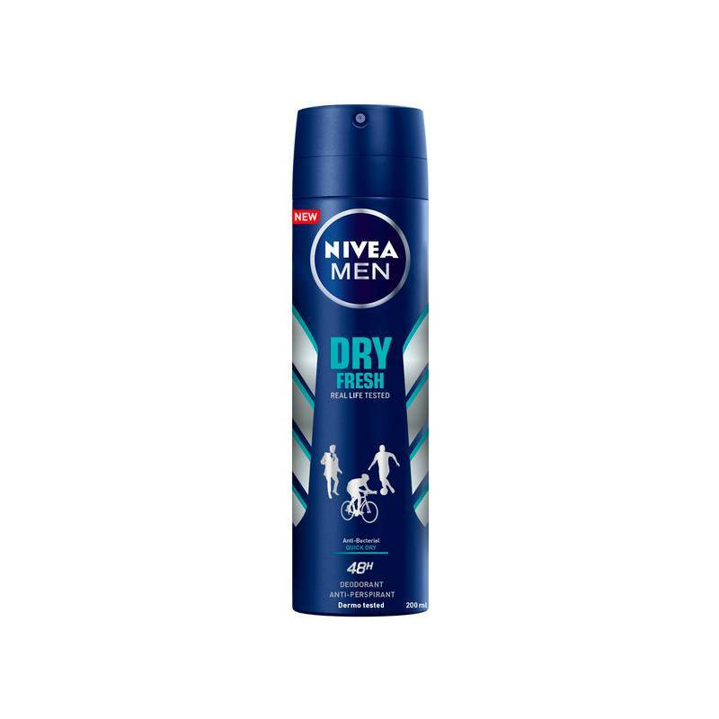 Deodorant Spray Dry Fresh Nivea (200 Ml)