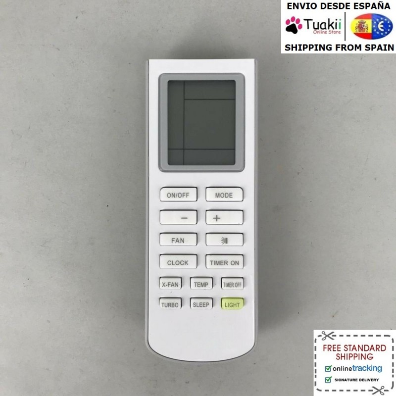 Remote Controller For Gree YAM1F Air Conditioning AC