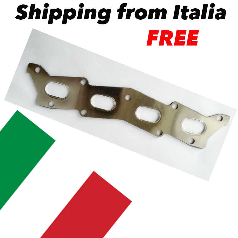 for fiat 500 1400 abarth 595 t jet punto abarth gasket racing exhaust manifolds reinforced shipping from italy