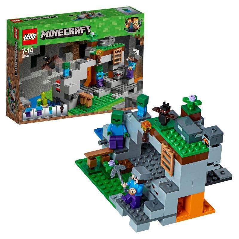 Designer Lego Minecraft 21141 Cave Zombies