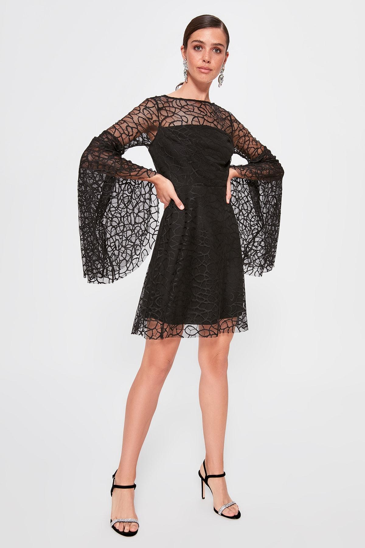 Trendyol Patterned Dress TPRAW20EL0872