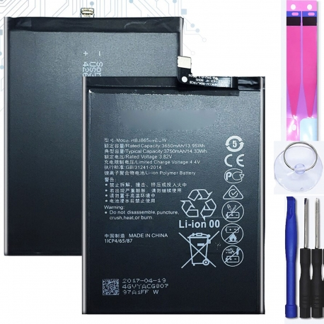 Battery For Huawei P10 Plus , Part Number: HB386589ECW