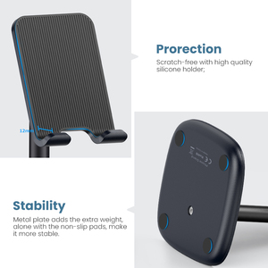 Image 5 - Ugreen Mobile Phone Holder Stand For iPhone X 8 7 6 Plus Desk Tablet Cell Phone Holder Stand Accessories For Xiaomi Phone Holder