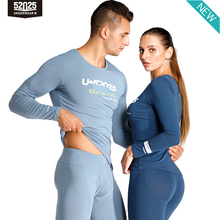 52025 Men Thermal Underwear Women Push Up Thermal Underwear Athletic Fit Cotton Modal Breathable Spo