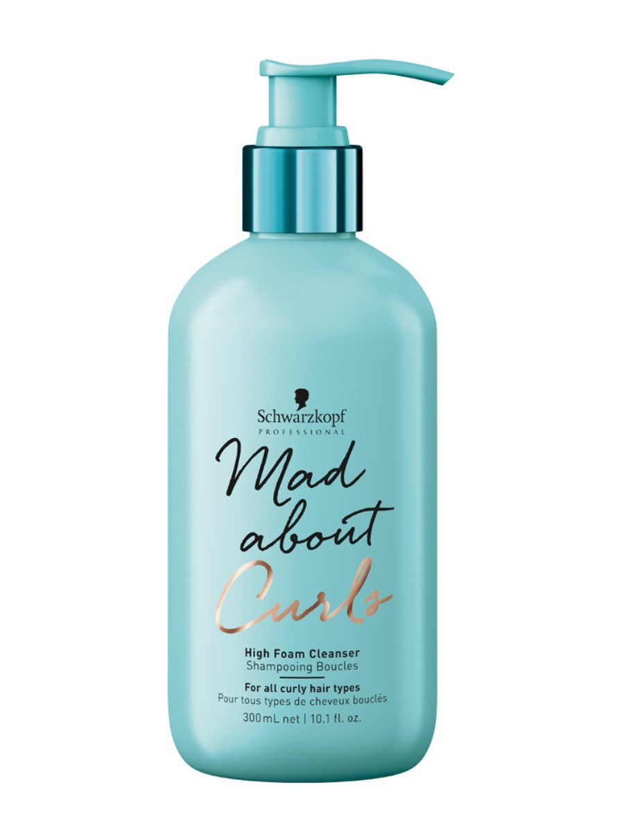 Schwarzkopf Professional cleansing shampoo for thin, normal and hard hair mad about curls, 300 ml image