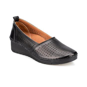 FLO 91 100674 Z czarne buty damskie Polaris 5 Point tanie i dobre opinie Polaris 5 Nokta Trzciny