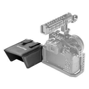 Image 3 - SmallRig ניילון LCD מסך Sunhood שמשיה לdslr מצלמות ומצלמות וידאו עבור Panasonic Lumix GH5 / GH4/G85/g7/GX8 1972
