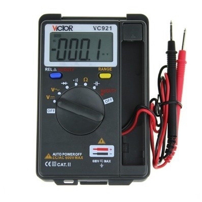 Pocket autorange multimeter Victor VC921 victor 77 digital process multimeter vc77