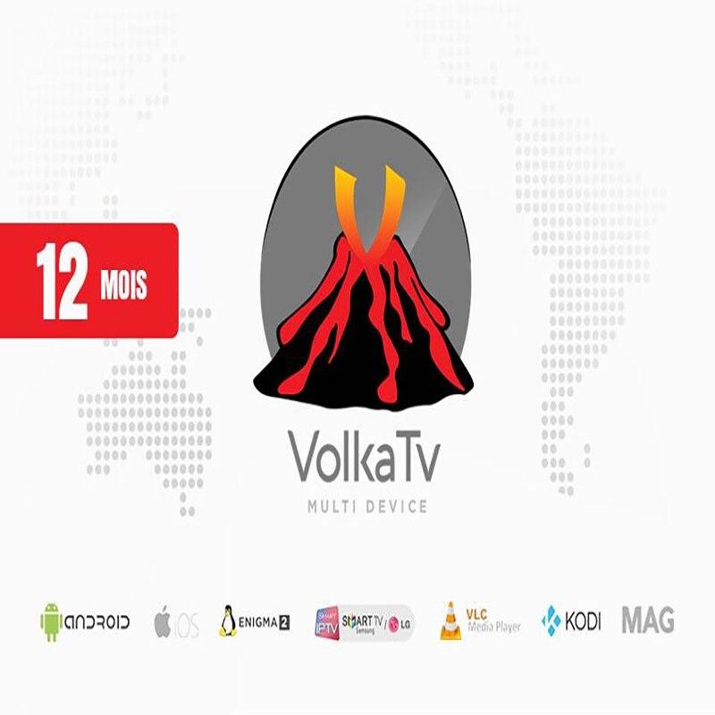 Subscription 12 Month Volka IPTV Best IPTV 1400 TV LIVE 2000 Vood H265 Channels