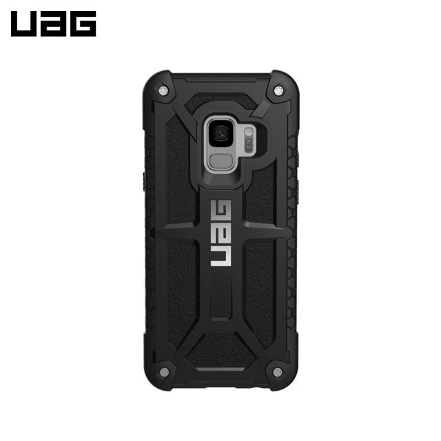 Защитный чехол UAG Monarch Samsung Galaxy S9 цвет черный/GLXS9-M-BLK/32
