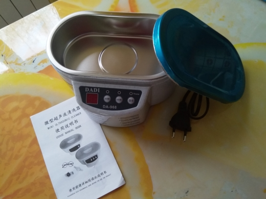 Efficient Dental Ultrasonic Cleaner photo review