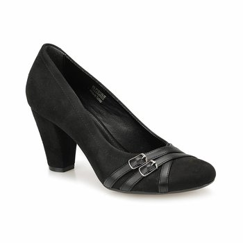 FLO 82 312109 Z czarne damskie buty Gova Polaris tanie i dobre opinie Trzciny