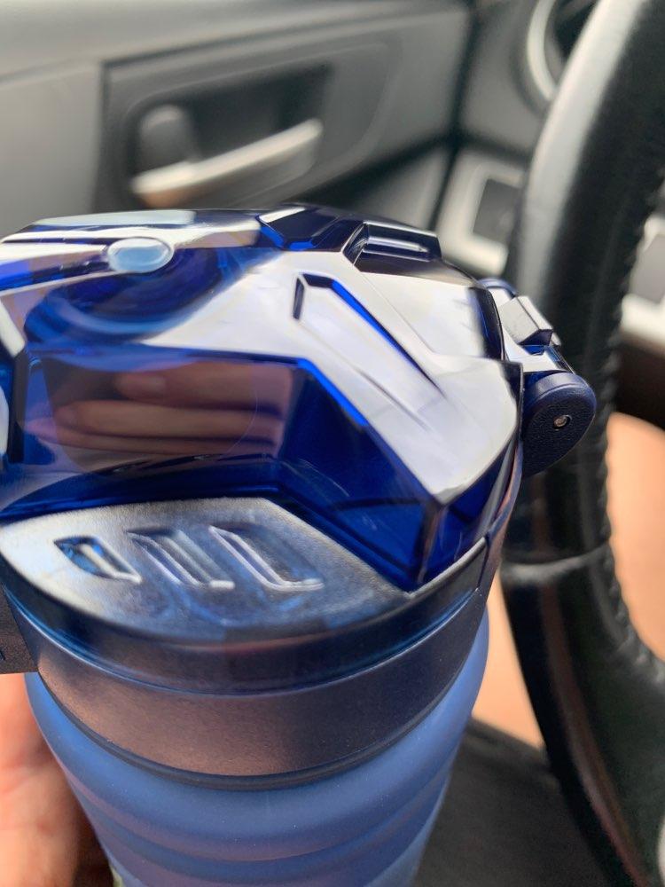 ZORRI Drak Blue Sports Water Bottle Best Reusable Protein Shaker Bpa Free Water Bottle Hiking Cycling Gym Bottle botella de agua|Water Bottles|   - AliExpress