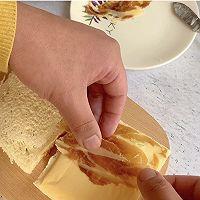 #福气年夜菜# 芝士火腿热压三明治的做法图解4