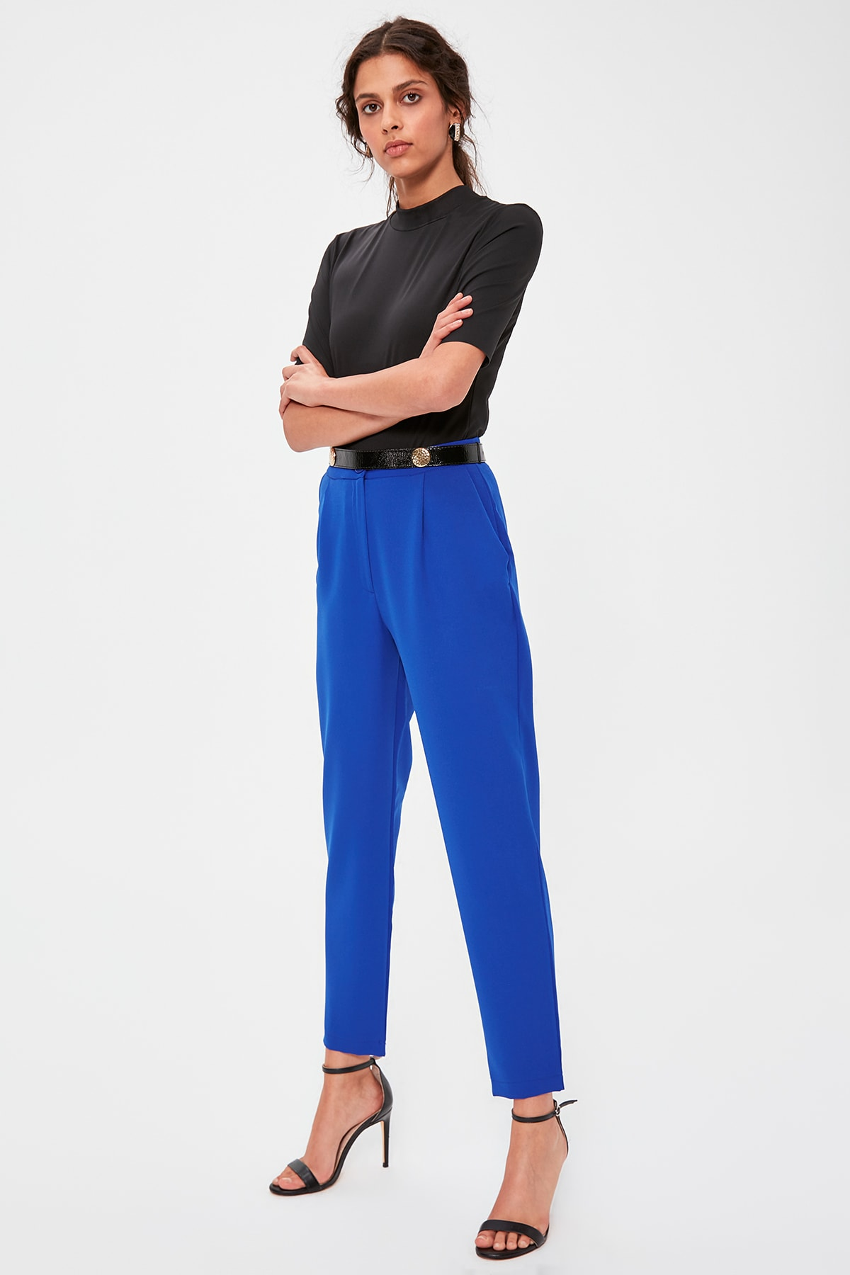 Trendyol Saks High Bel Pants TWOAW20PL0172