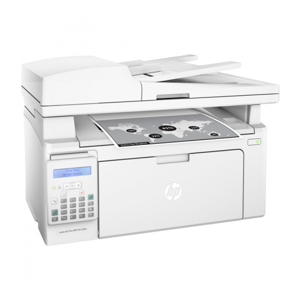 Multifunction Printer HP LaserJet Pro MFP M130fn WIFI 256 MB