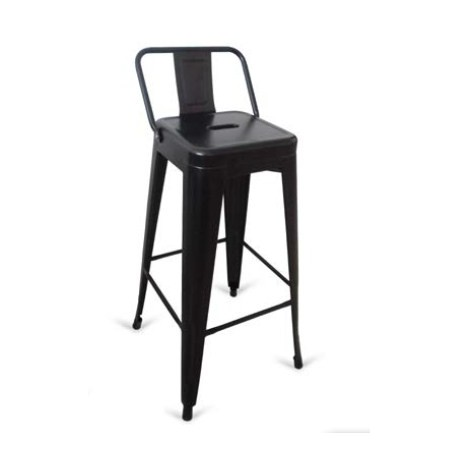 Pack of 4 stools Tolix backed. Step Stools & Step Ladders     - title=