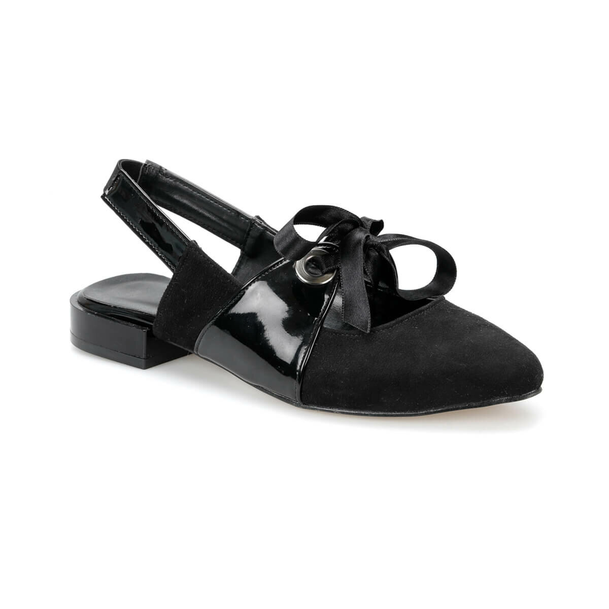 FLO DS19021 Black Women Shoes Miss F