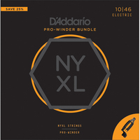 Nyxl1046 pw set of strings for electric guitar 10 49 + machine for Winding Strings