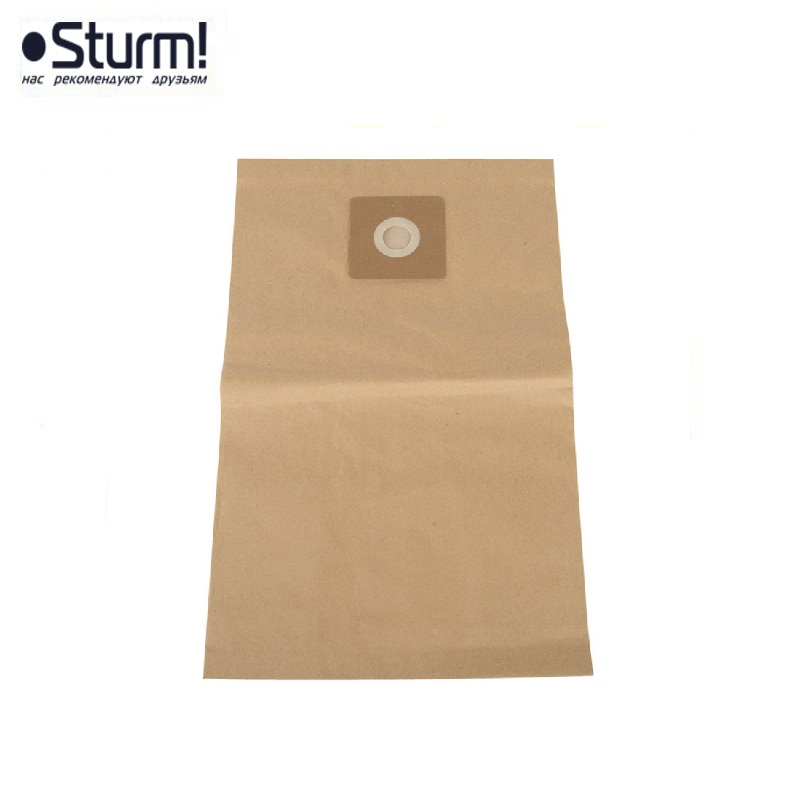 VC7203-885 Paper bags for vacuum cleaners 30 l STURM !, 5 pcs / pack Filter for vacuum cleaner Dual layer filter bag