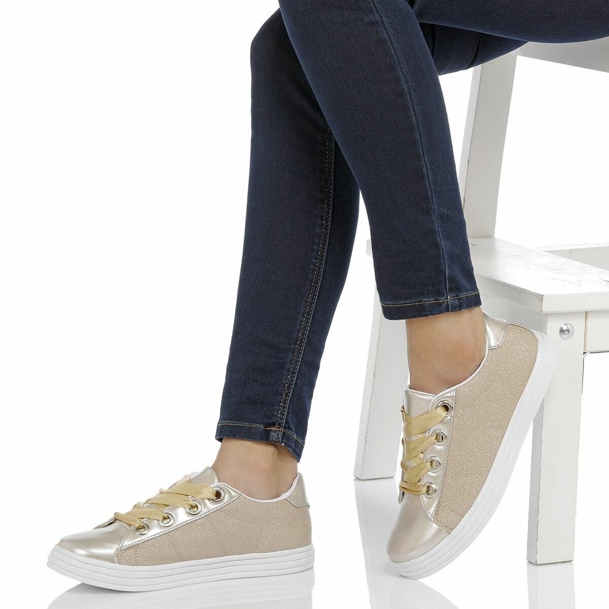 FLO 18S-023 Gold Women 'S Shoes BUTIGO