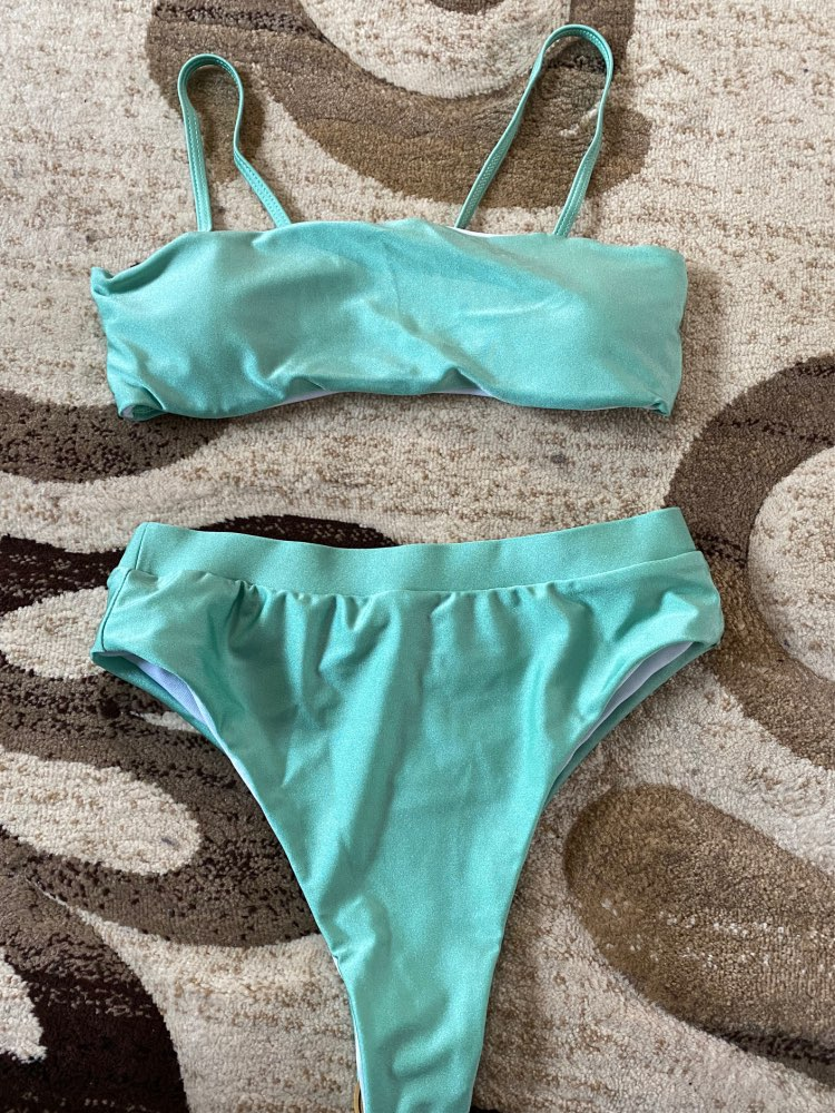 Solid High Waist Bikini Set Sexy Leopard Bikinis Women Snake Print Bathing SuitSwimsuit  2020 New Swimwear Summer Beachwear|Bikini Set|   - AliExpress
