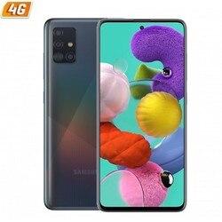 Samsung galaxy a51 черный мобильный телефон-6,5 '/16,5 cm - cam (48 + 12 + 5 + 5)/32mp - oc - 128gb - 4gb ram - android - 4g - dual sim