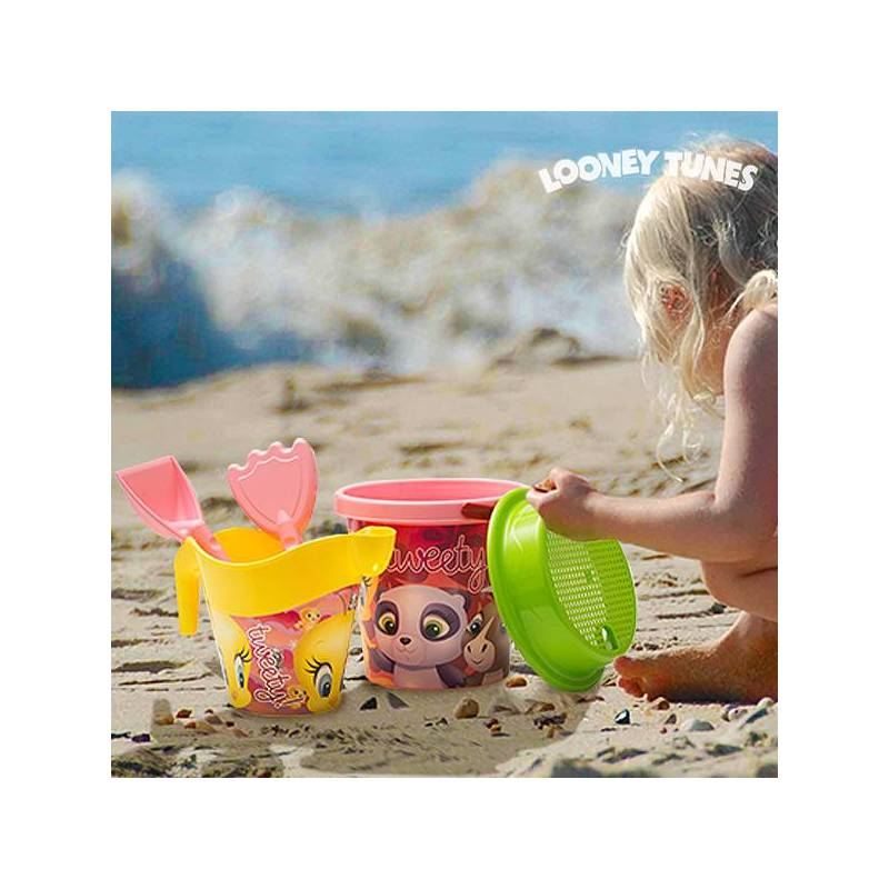 Beach Game With Watering Can Tweety Junior Knows (5 Pcs)