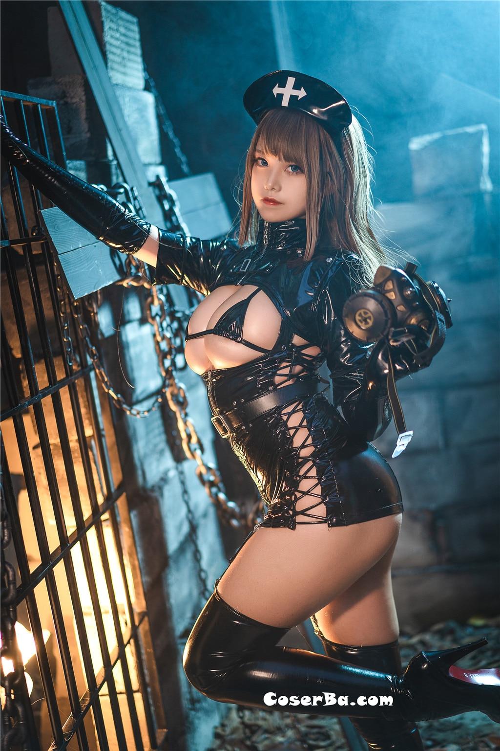 蜜汁猫裘 黑暗护士 [52P/0.99G]