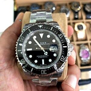 Automatic Submariner Watch Mechanical-Rolexable Customized Sapphire Luxury 200m Waterproof