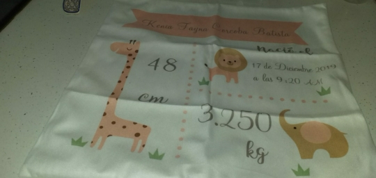 Customisable Animal New born Cushion Covers x4 colours photo review