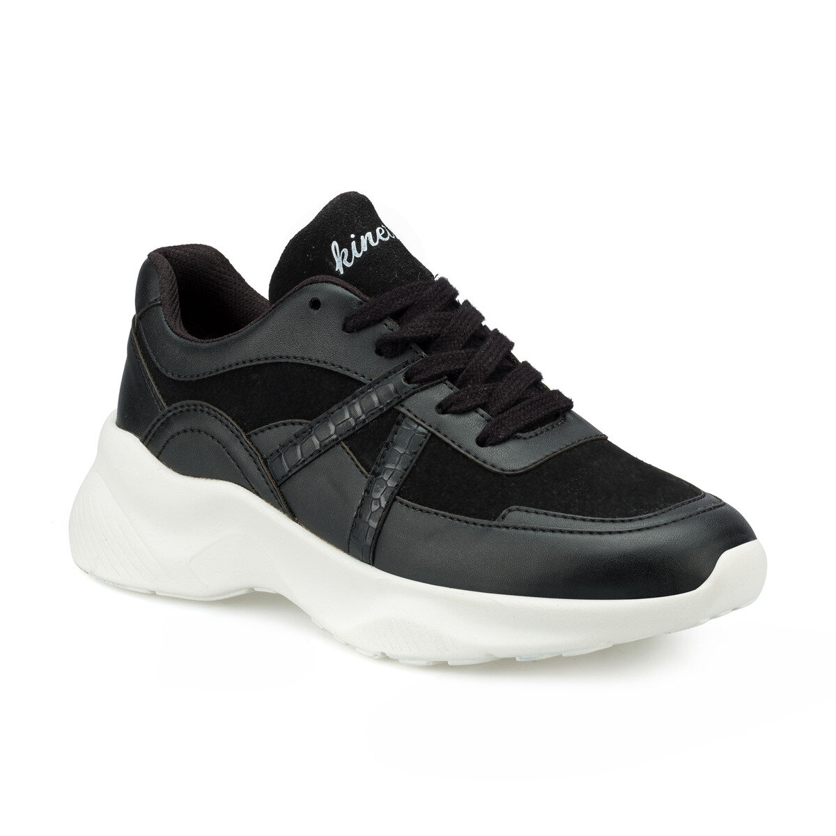 FLO AYEW Black Women 'S Sneaker Shoes KINETIX