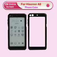 RYKKZ DIY 3D ТПУ Прозрачная черная рамка чехол для телефона Coque для Hisense A6 чехол s