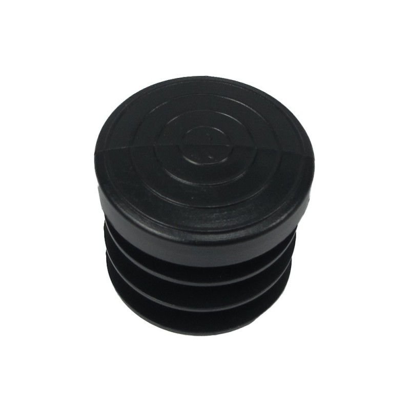 Cone Round Black 26mm. Blister 4 PCs.