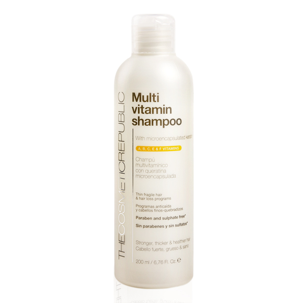 Revitalizing Shampoo Multi-vitamin The Cosmetic Republic (200 Ml)