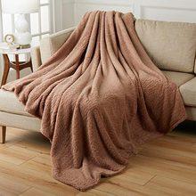 Couverture en flanelle pour adultes, couettes, couvre-lit de couleur unie, doux, de qualité, pour canapé, maison