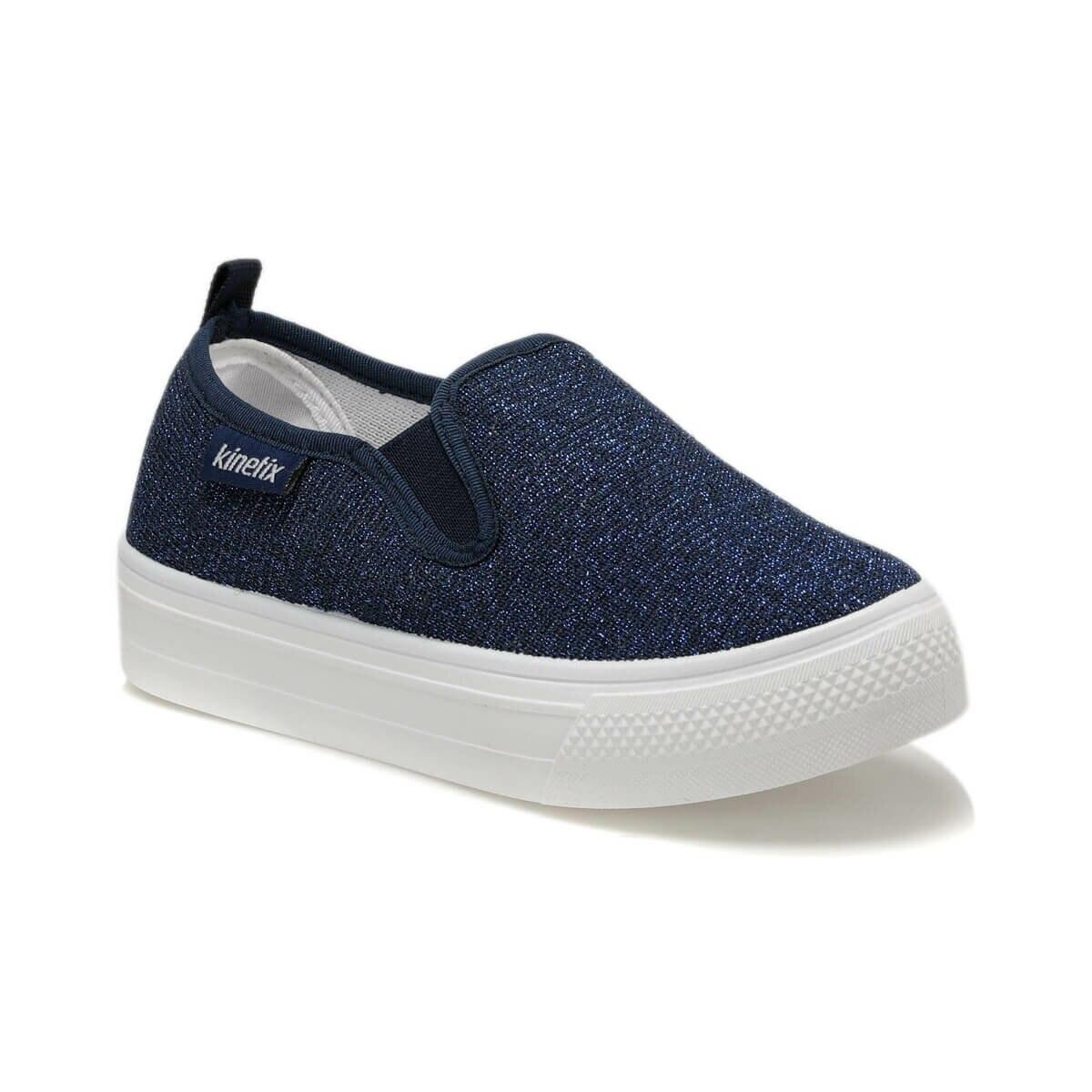 FLO ELISHA Navy Blue Female Child Slip On Shoes KINETIX