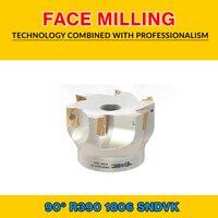 TK R390 18 004 SNDVK FACE MILLING EM90 100X8 032 R390 1806|Milling Cutter| |  -