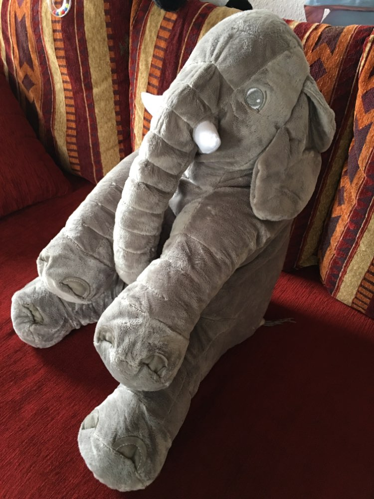 Elephant Pillow for Kids photo review