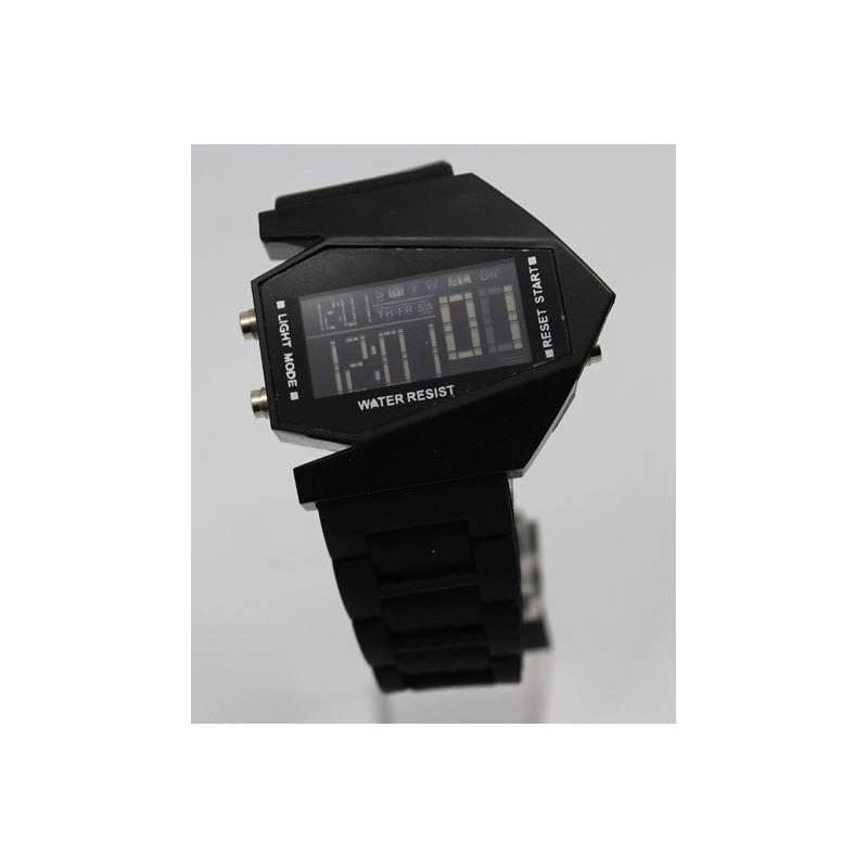 Digital Wrist Watch Fashion Triangulate Aircraft