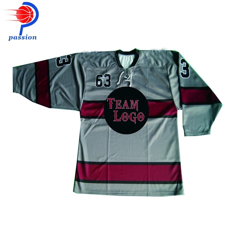 Low Price Sublimated Printing Kids Practice Ice Hockey Jerseys On Sales