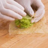 翡翠腐皮卷 | 香脆清爽的做法图解8