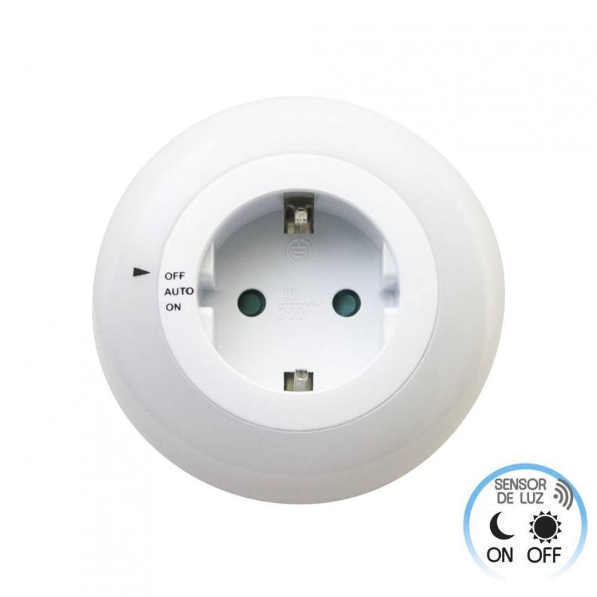 Night Light Nightlights LED With Twilight Sensor And Schuko Plug 7hSevenOn Elec