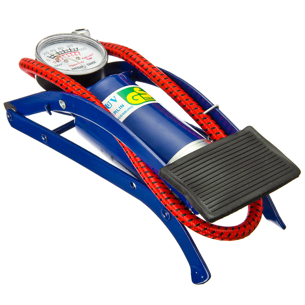 Silapro Pump Foot With A Pressure Gauge, Metal, 23x7 Cm