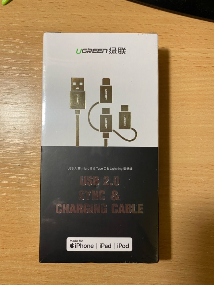 Ugreen MFi Lightning USB Cable For iPhone 11 Pro 8 7 3 in 1 3A USB Type C Fast Micro USB Cable for Samsung Huawei Charging Cord cable fast charging fast charge usbcharge usb - AliExpress